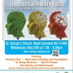 Equity of Voice, Dementia Awareness Week,  20th May