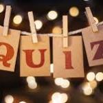 Quiz Night! Saturday 19th January