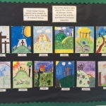 Easter Art Display – by Falkland School children